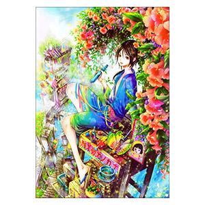 Tukiji Nao Art. Размер: 42 х 60 см